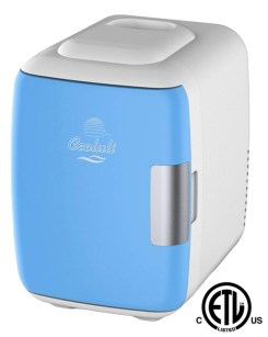 Family Holiday Gift Guide blue mini frig