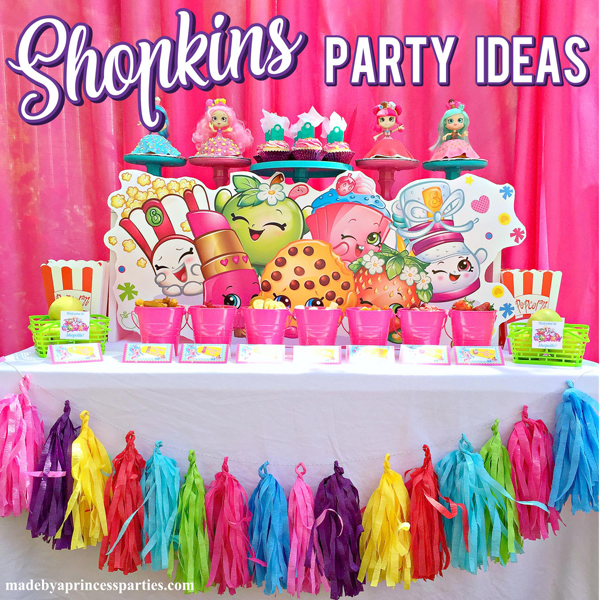 Adorable Shopkins Birthday Party Ideas