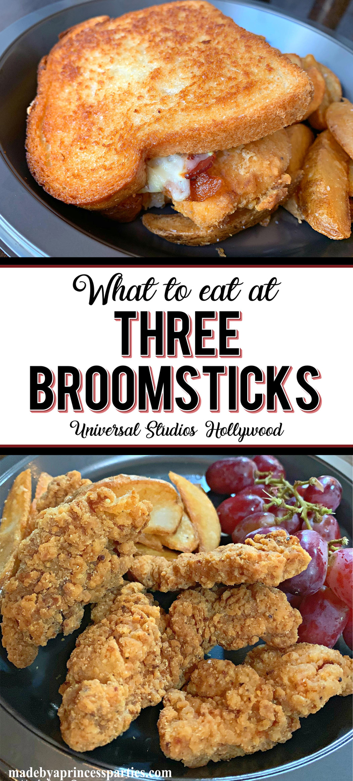 Experience Three Broomsticks just like Harry, Ron, & Hermione! Check out the Three Broomsticks Hollywood menu and pick your favorite British fare