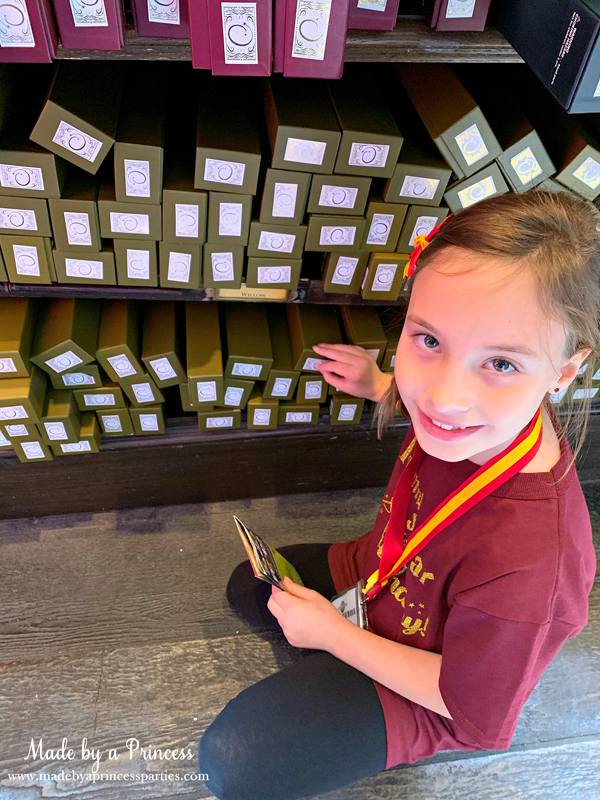 Universal Studios Hollywood Ollivanders choosing the right wand
