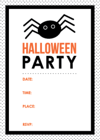 halloween party invitation images