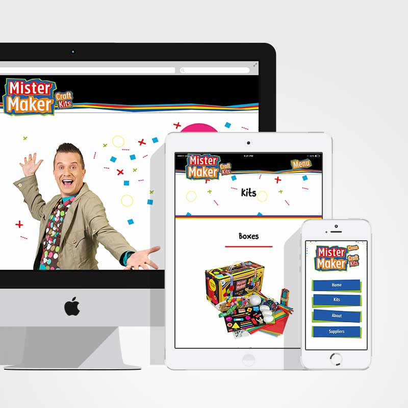 Mistermaker website design madebyfactory