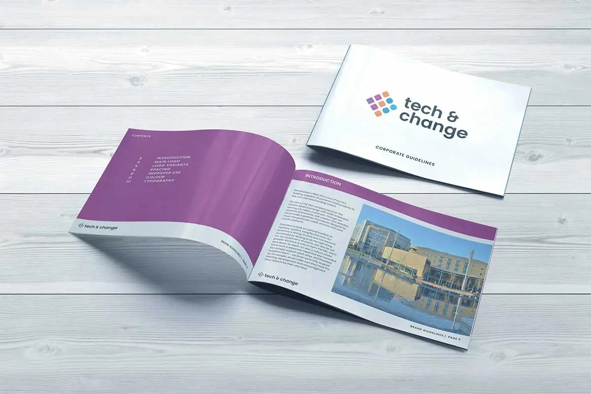 Provident Tech & Change Brand Guidelines, Factory. Brand Agency in Manchester Made By Factory