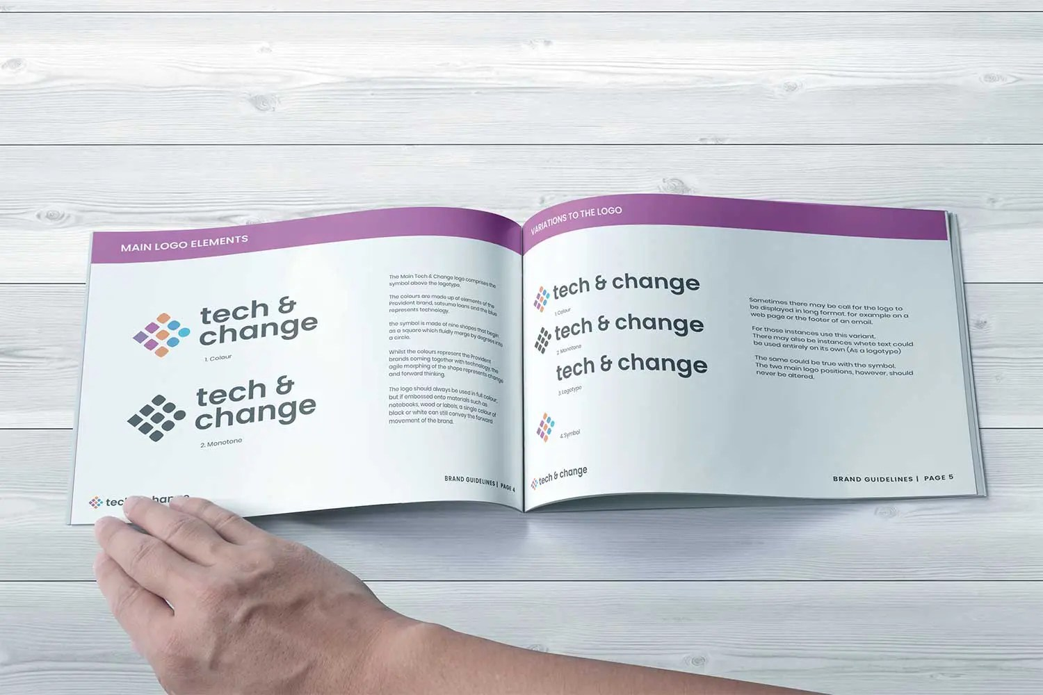 Provident Tech & Change Brand Guidelines, Factory. Brand Agency in Manchester Project Image PPC Agency