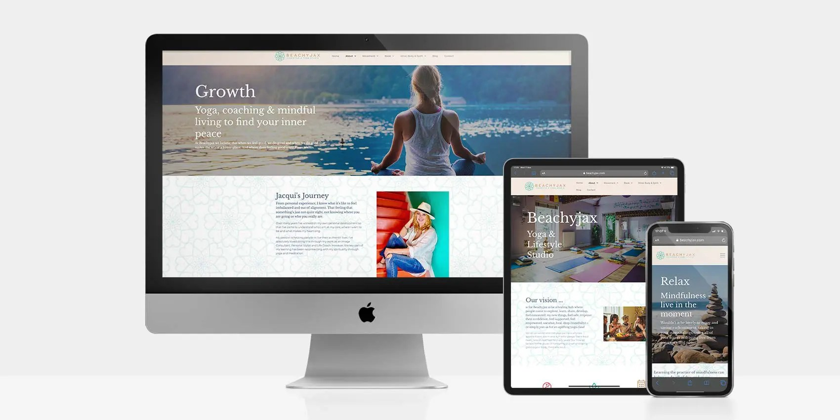 Beachyjax Wellness & Yoga Studio: By Factory, Digital Agency In Manchester
