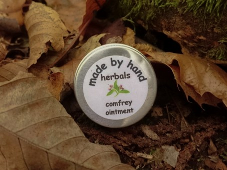 comfrey ointment | herbal | traditional | hedgerow | remedies | medicine