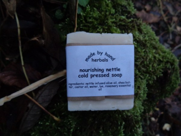 nourishing nettle cold pressed soap | herbal | natural | traditional