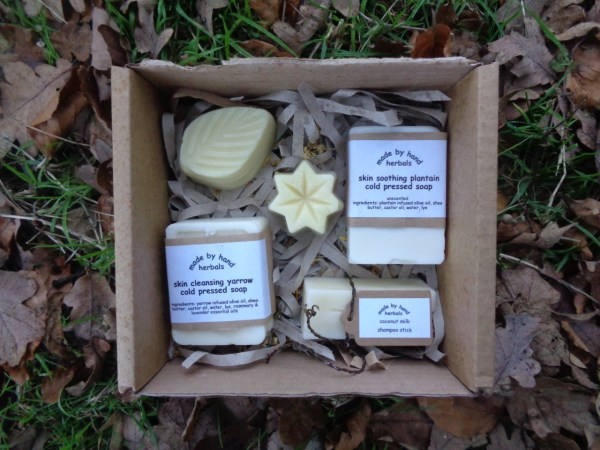 soap selection gift box | traditional | hand made | cold pressed