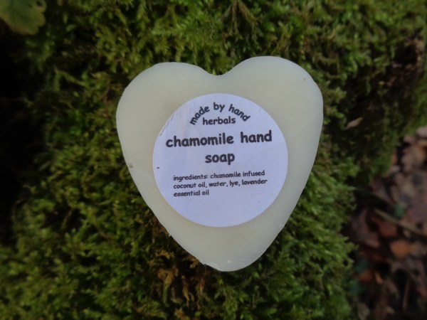 chamomile hand soap | natural | herbal | hedgerow | traditional