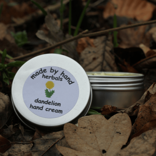 dandelion hand cream | herbal remedies | natural body care products