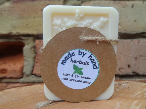 fir needle and peppermint soap | Cold Pressed Soap | hand made | natural | traditional