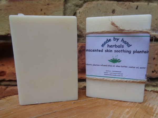 unscented soothing plantain soap | Cold Pressed Soap | hand nade | natural | traditional