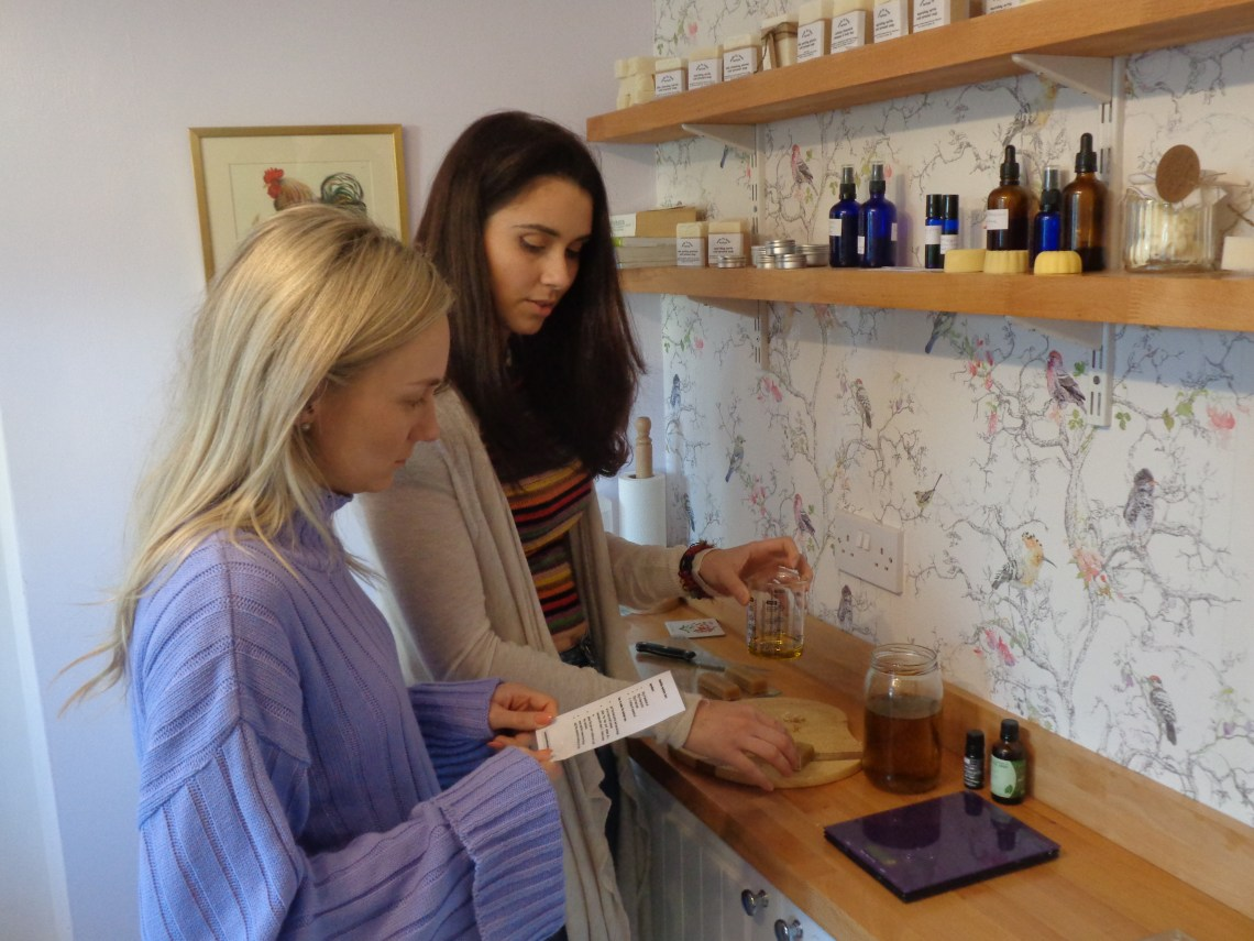natural skin care products | workshop | Kent