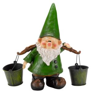 Traditional-green-garden-gnome-carrying-buckets.