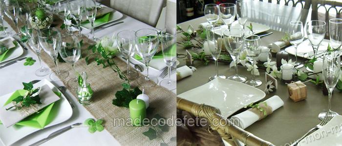 decorations de table esprit nature ma
