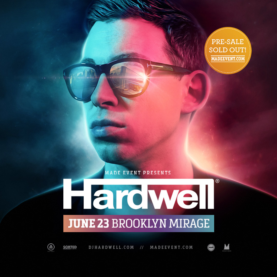 Made Event Announces HARDWELL at Brooklyn Mirage June 23 ile ilgili görsel sonucu