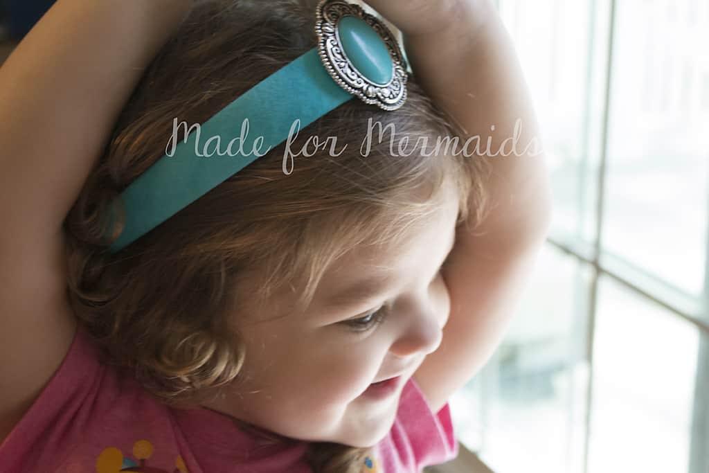 jasmine with crown fabric covered headband jasmine inspired tutorial made for