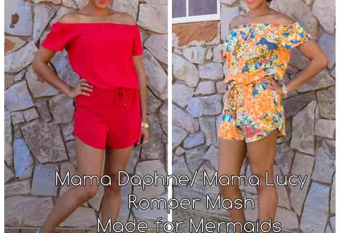 Mama Daphne/ Mama Lucy Romper Mash