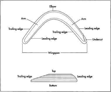 A boomerang.