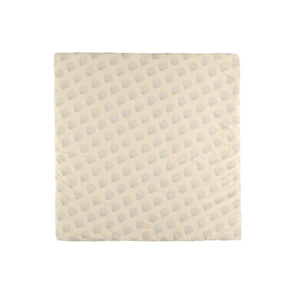 tapis de jeu colorado 100x100 cm blue gatsby cream