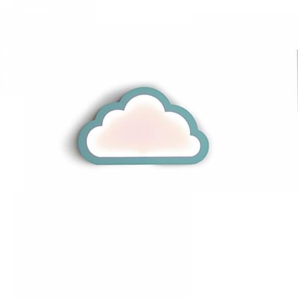 lampe nuage cloudy menthe