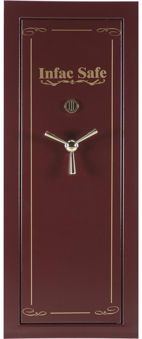 Armoire Forte Anti Feu Infac Big Safe Bordeaux 12 24
