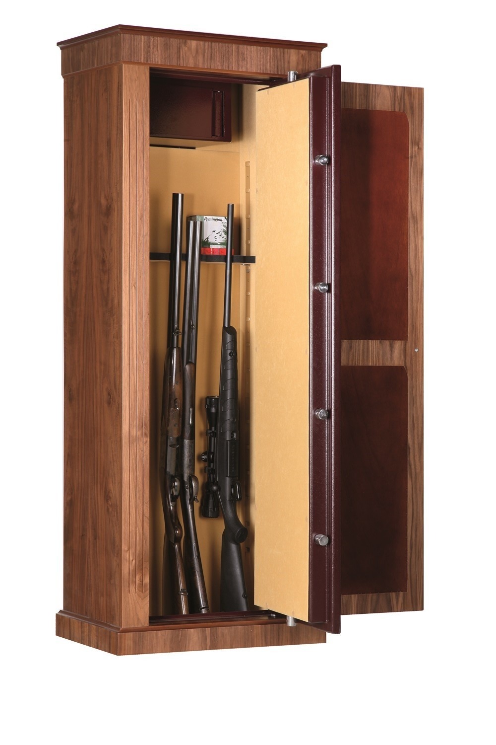 Armoire Forte Infac Wood Cover Noyer 10 18 Armes