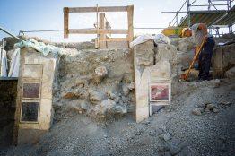 Pompei Regio V fonte PaP Pareti dell'atrio Casa di Giove