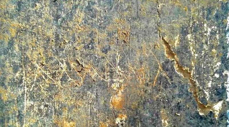 Civita Giuliana, nuovi scavi nella villa: trovato il graffito di Mummia, una bambina dell'epoca