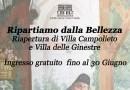 Riaprono Villa Campolieto e Villa delle Ginestre: ingresso gratuito per tutto giugno