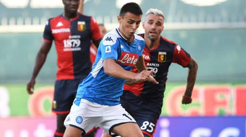 Riecco Lozano: è suo il gol che regala al Napoli la vittoria in trasferta contro il Genoa (2-1)