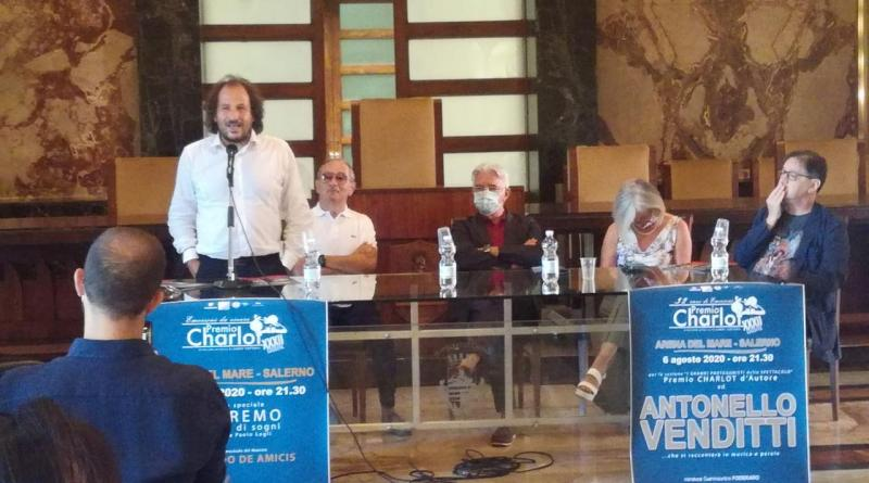 Salerno, riecco il Premio Charlot: spiccano le date con Antonello Venditti e Vincenzo Salemme