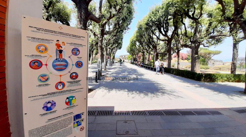 Aumentano i turisti a Pompei: ingresso consentito fino a 500 persone per turno