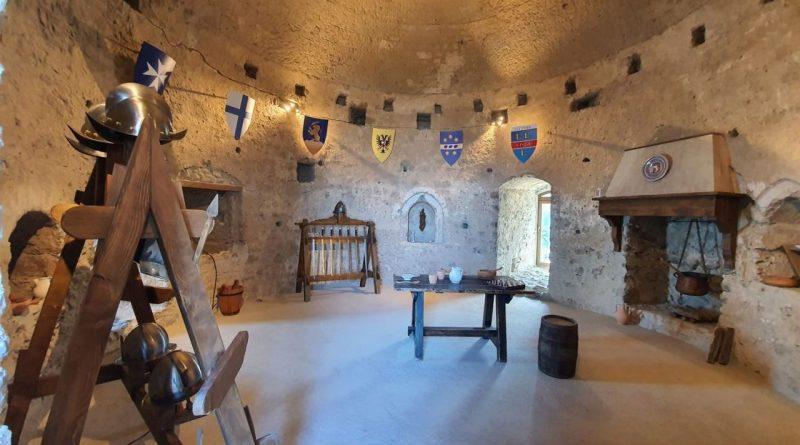 Lettere, nel torrione del Castello la ricostruzione storica delle antiche sale