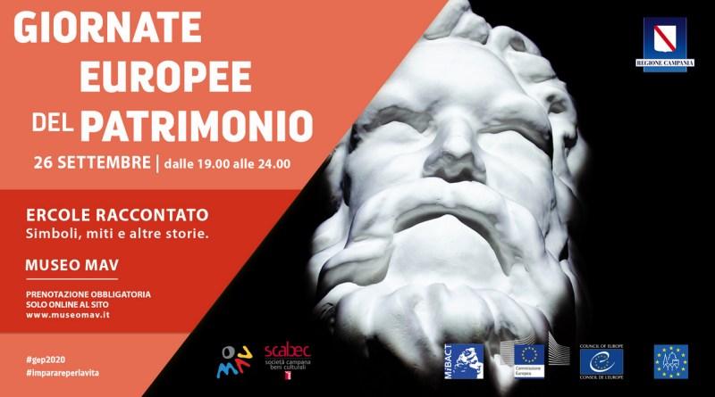 Giornate Europee del Patrimonio, le iniziative in programma al Mav di Ercolano