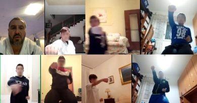 Pompei, il Covid non ferma il karate: lezioni on-line gratis per l'Accademia Vesuviana