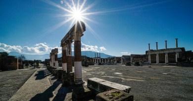 Emergenza Covid: la Campania torna in zona Arancione e il Parco Archeologico di Pompei chiude