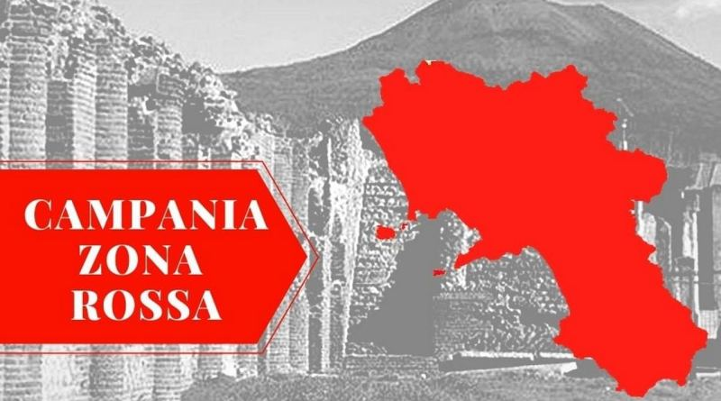 Emergenza coronavirus, Campania in Zona Rossa dall'8 al 21 marzo 2021