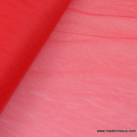 tissu tulle rouge pas cher pour robe de mariee cocktail decoration x1m