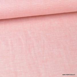 tissu viscose lin rose au metre tissu viscose lin rose au metre
