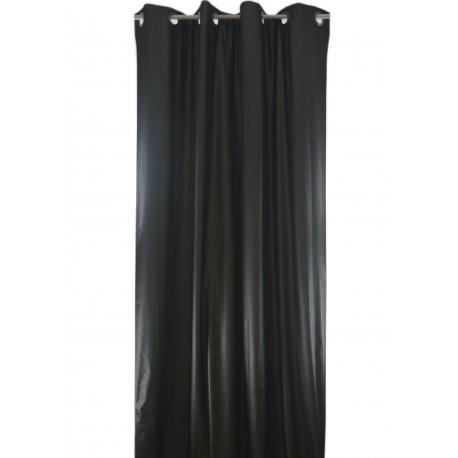 rideau occultant isolant phonique et thermique vesuvio noir