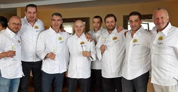 Olivier Barbarin, Sebastien Broda, Benoît Sinthon, Paulo Morais, Pascal Picasse, Vítor Matos, Ricardo Costa e Yves Michoux
