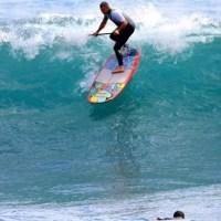 Garret Mcnamara surfing in Madeira island