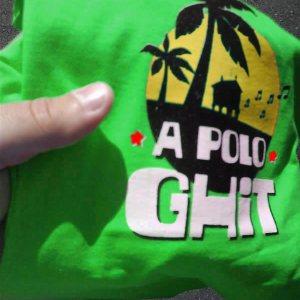 A Polo Ghit verde