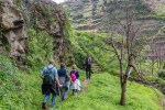 English Tourist falls on Levada