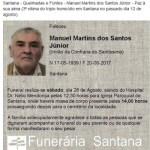 Father of Santana shooting died