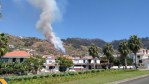 Fire in Arco Calheta