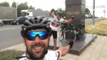 Madeirans arrived by bicycle in Russia today