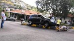 Another car gets caught in Caniço