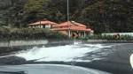 WHITE PAINT SURPRISES DRIVERS IN RIBEIRA BRAVA